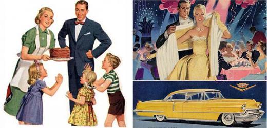 Американские 50-е: как носить их этой весной? | Женские хитрости
