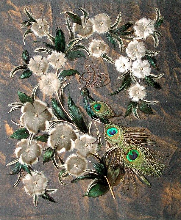 Птичьи перья своими руками 495