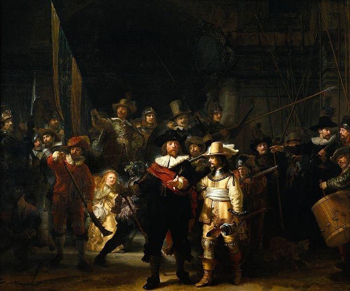 Ночной дозор 1642 год картина имела и