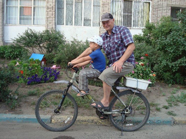Детское велосипедное сиденье на раму своими руками