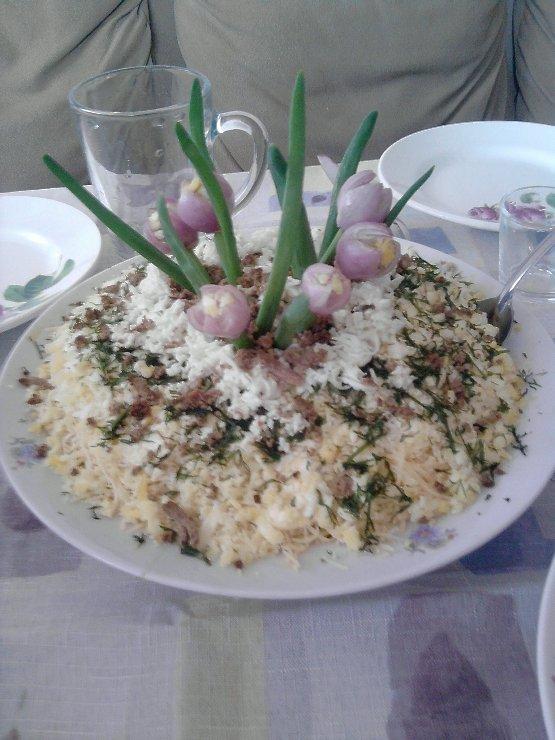 обломками салат подснежник рецепт с фото заключается