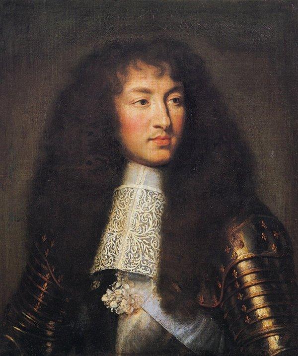 Король Франции Люис14(16 век) .