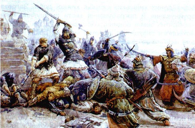Великий ����кий воин Евпа�ий Колов�а� Военная и��о�ия