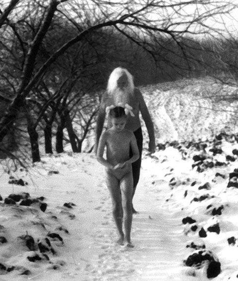 секс на снегу