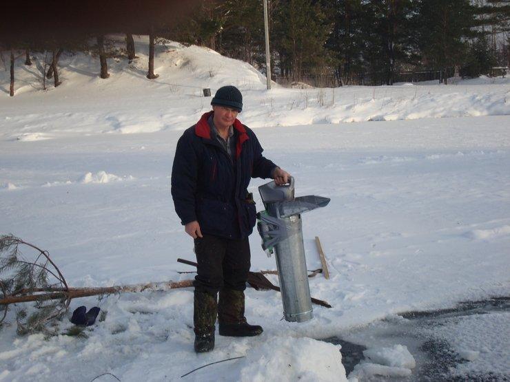 Как сделать чтобы прорубь не замерзала