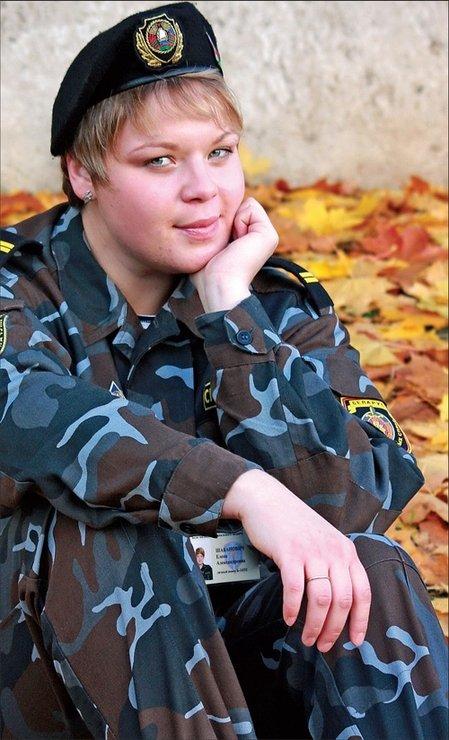 Девушки из российского спецназа фото
