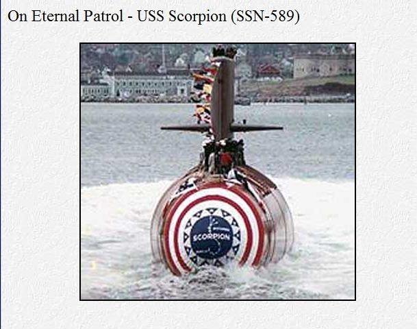 скорпион лодка сша