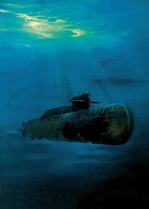 подводная лодка выстрел