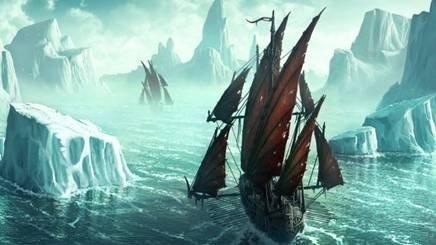 """Вышивка крестом.  Схема вышивки  """"Корабль """".  Сейчас появилось множество ниток, например, нити с люрексом..."""