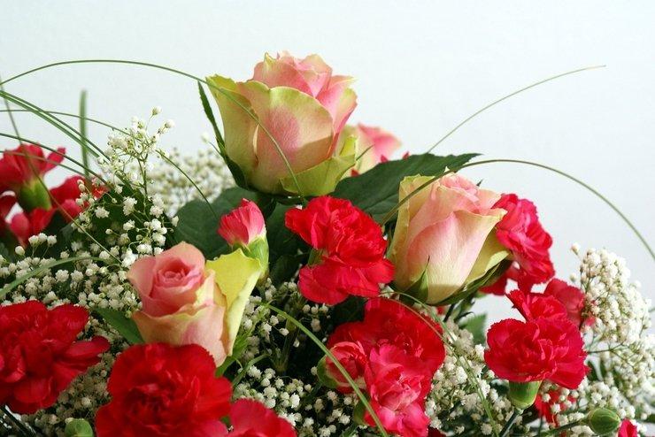 Фото цветы на юбилей женщине