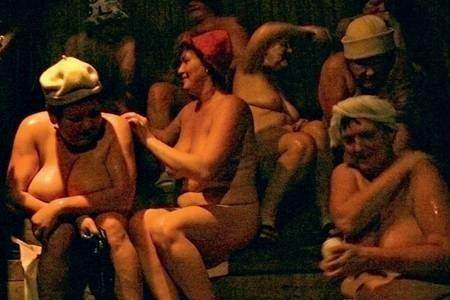бабы и мужики в бане фото