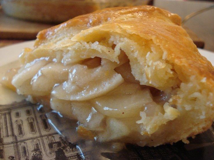 Вкусный пирог с яблоками на дрожжевом тесте рецепт с