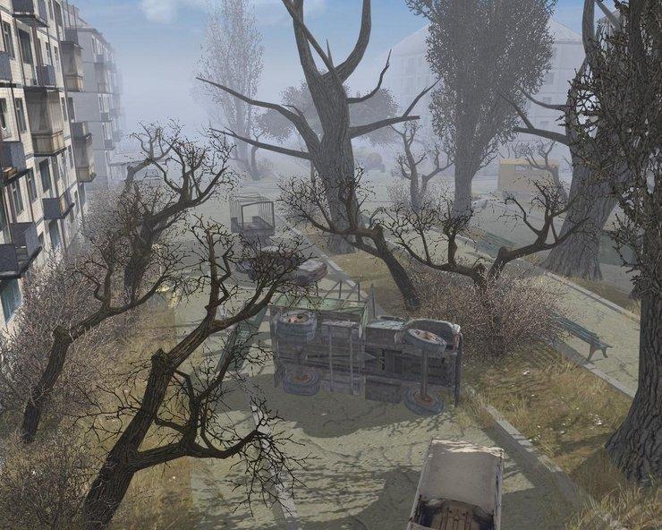 В тылу врага 2: Лис пустыни - Stalker Mod (WIP), Припять vs Мёртвый Город.