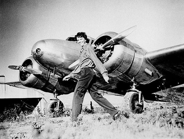 the life and aviation career of amelia mary earhart Amelia earhart.
