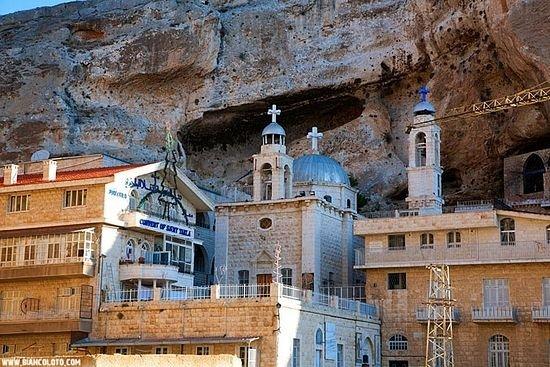 Монастырь Святой Феклы. Маалюля. Сирия.