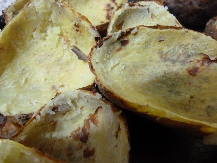 Картошки в фольге как в крошке картошке