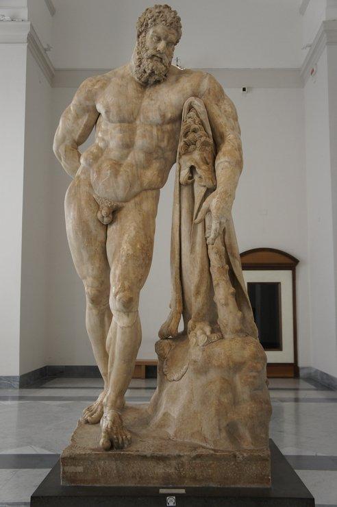 Древнегреческое искусство фарнезский бык