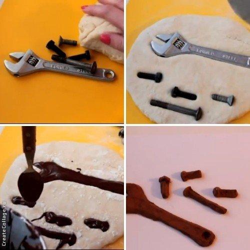 Шоколадные инструменты своими руками 18