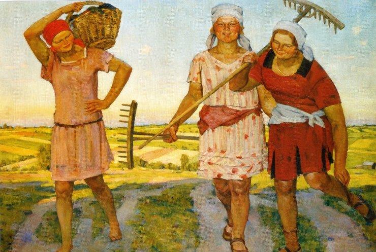Колхозницы старые в бане, как быстро кончить дрочить