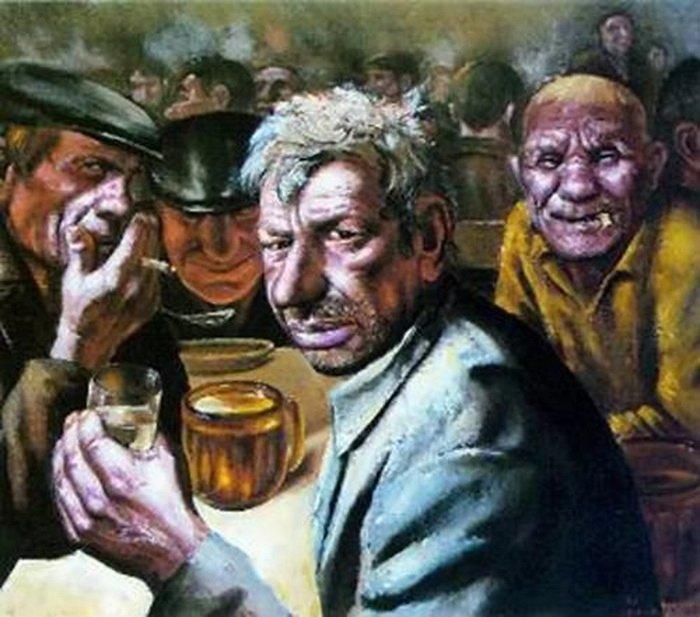 Алкоголизм взрослого населения