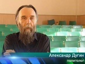 Российский фашистский идеолог Александр Дугин раскрывает глаза зрителям телеканала НТВ на истинную природу процессов, происходящих в Украине
