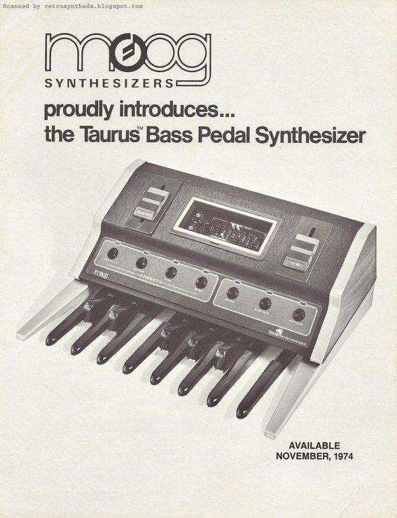 включая и синтезаторы Moog
