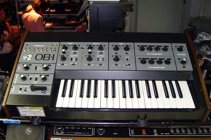 Моно-синтезатор ОВ-1 (1995$)