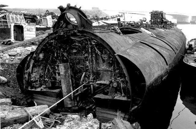 подводная лодка курск в разрезе фото