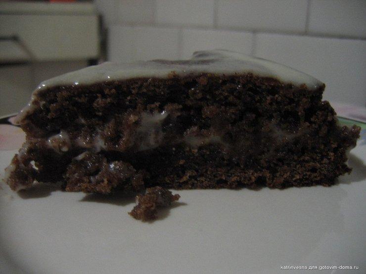 Торт поцелуй негра с черемухой