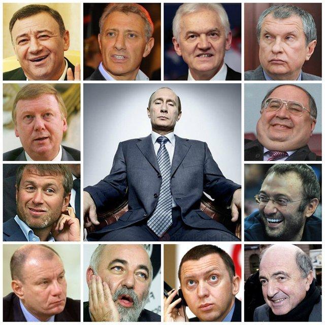 Шоу для быдлопутинцев: «Миронов & C°» хотят посадить Путина и его друзей