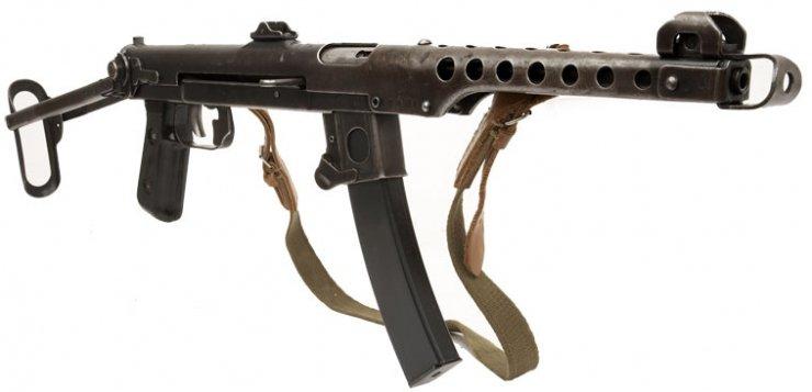 действий пистолет-пулемет