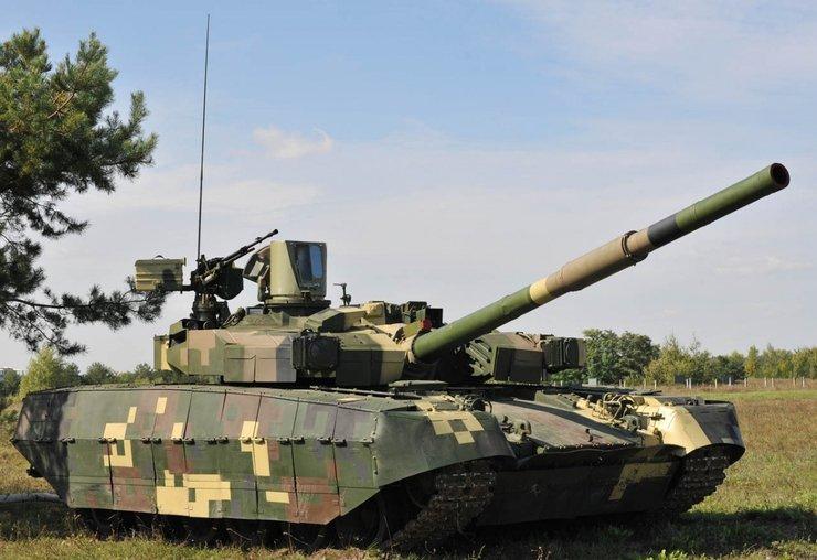 Сравнительный ролик украинского танка Т-84 БМ «Оплот» и ... Т 84 БМ Оплот