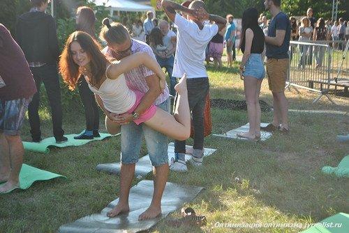Фото секса на фестивале