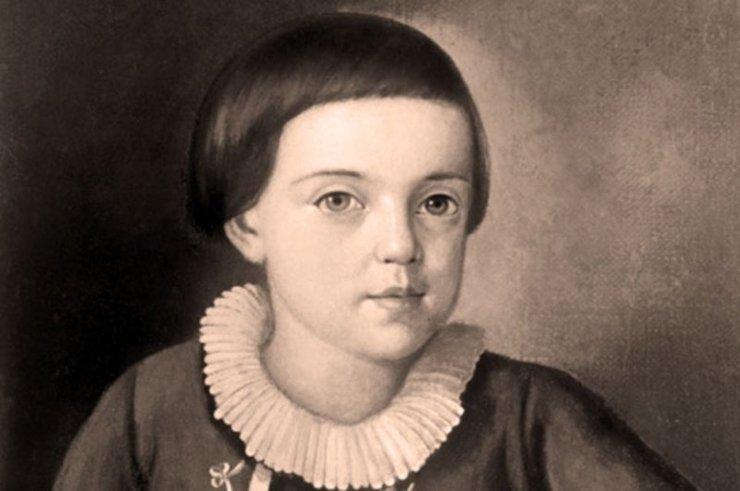 Картинки ломоносова в детстве