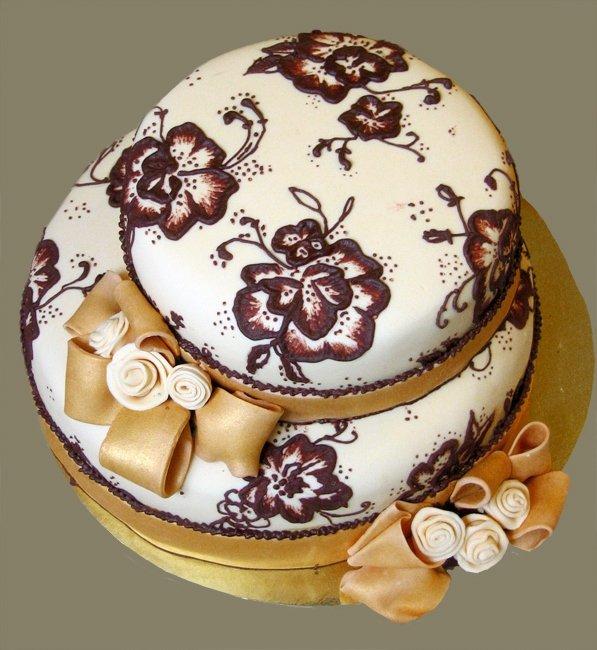 Торты с шоколадом и айсингом