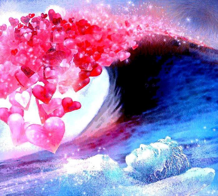 Февраля, открытка ты у меня в сердце в мыслях