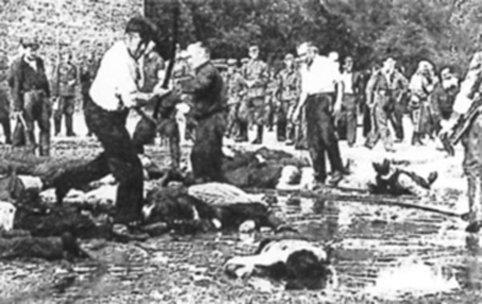 Картинки по запросу прибалты  убивают евреев во время войны