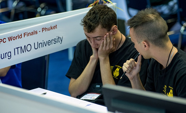 Российские студенты лидируют на олимпиадах по компьютерному программированию