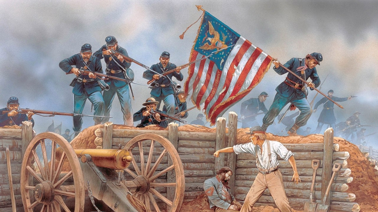 a history of the battles in the american civil war The civil war was fought between 1861 and 1865, and was the bloodiest conflict in american history pitting north against south, the civil the battles of the civil war were fought across the united states from the east coast to as far west as new mexico beginning in 1861, these battles made a.
