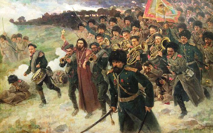 русская батальная живопись: