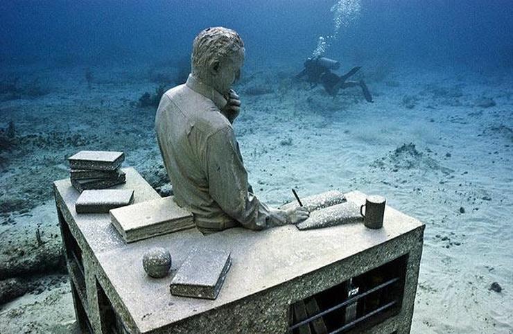 Подводный музей один из способов