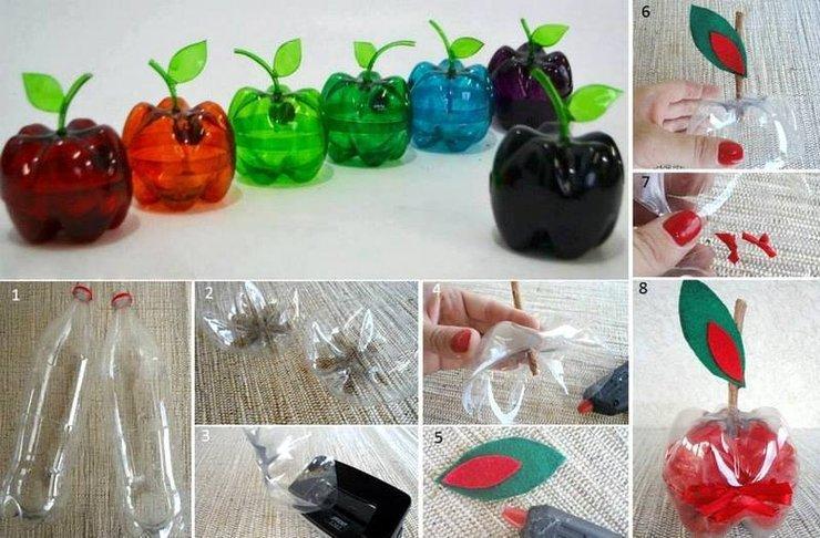 Вещи из пластиковых бутылок своими руками