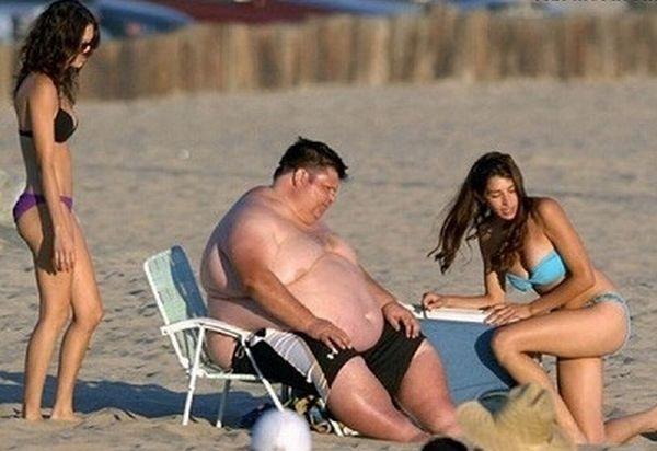 На пляже толстые фото фото 692-901