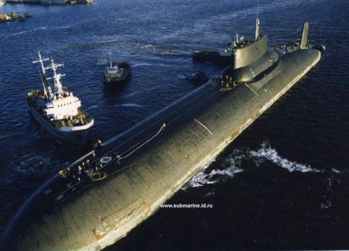 Тяжёлые ракетные подводные крейсеры стратегического назначения проекта 941